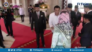 General Audience with His Majesty Sultan Hassanal Bolkia of Brunei Darussalam