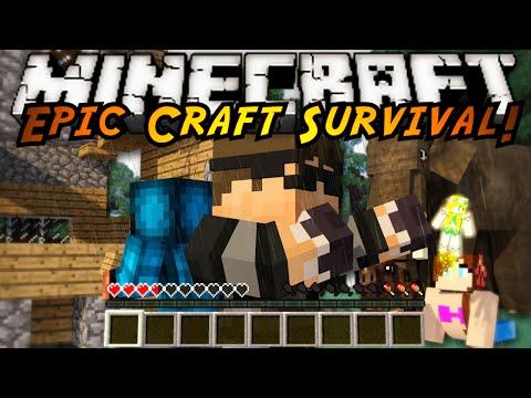 Minecraft Modded EPIC CRAFT : A CRAZY NEW WORLD