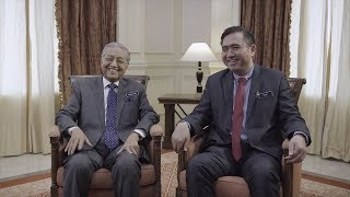 Dr M and Anthony Loke offer friendly advice in road safety viral video