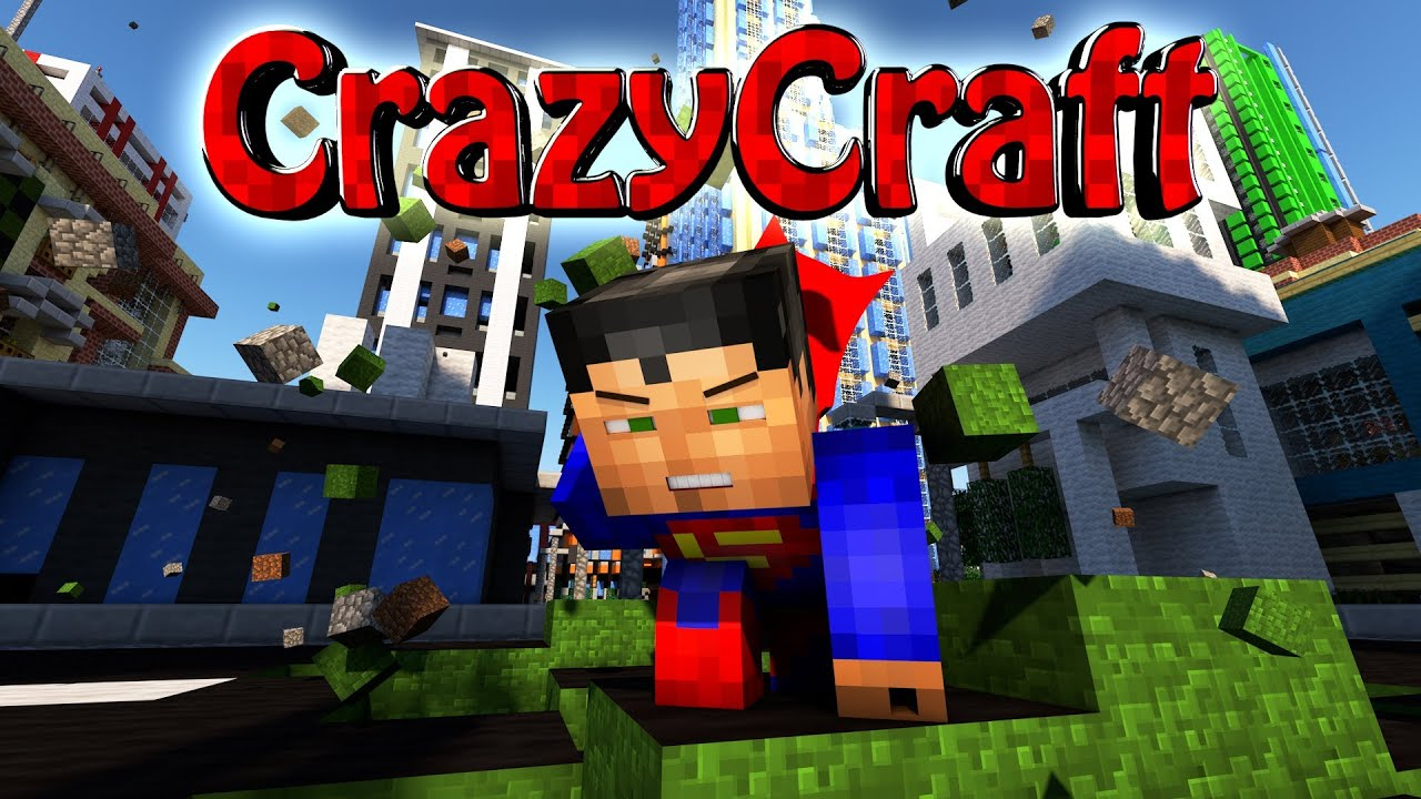 how to create a crazy craft 2.0 server