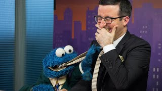 John Oliver & Cookie Monster Out-Takes