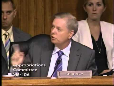 Graham Questions Obama Officials in hearing on US Border Crisis