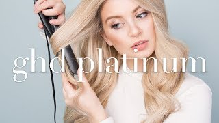 GHD Platinum REVIEW (One Year On) & TUTORIAL    Classic WAVES/CURLS Using Straighteners/Flat Iron