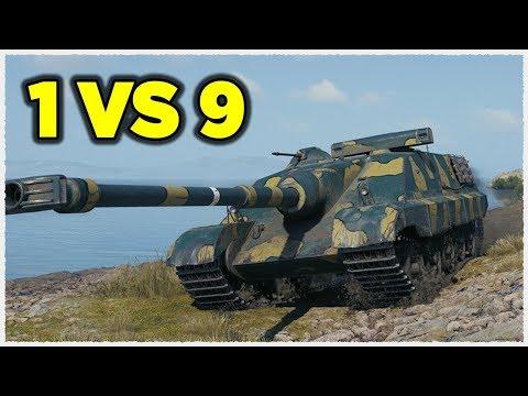 AMX 50 Foch B • ONE AGAINST NINE • WoT Gameplay