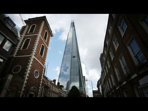 The Shard Debuts in London; Tallest Building in Western Europe
