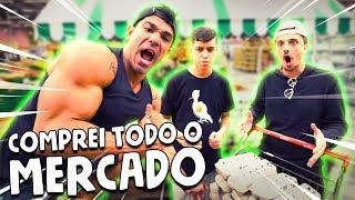COMPREI TODO O MERCADO || VLOG 086