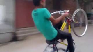 Hafizabad bicycle wheeling