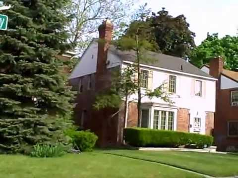 2. Detroit Michigan elegant homes - V
