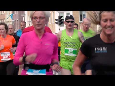 Halve marathon van Den Helder 2016