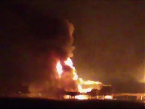 Flames engulf Mexico oil platform; 4 workers killed