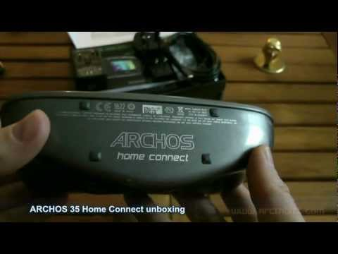 Archos 35 Home Connect unboxing (review part 1)