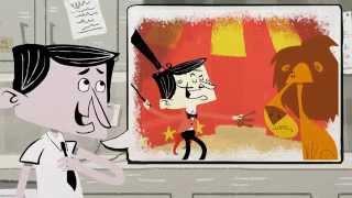 """Pale blue Jak - Neil Byrne - """"Mr Ace"""" Animated Music Video"""