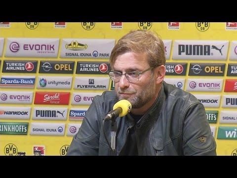 Pressekonferenz: Jürgen Klopp vor dem Heimspiel gegen den SC Paderborn | BVB total!