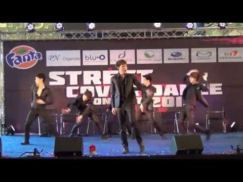 130728 [R1] SQ5 cover 2PM – Beautiful + I'm Your Man + Hands Up @Street Cover Dance Contest 2013