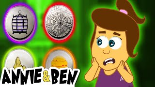 Pick the Correct One | Funny Halloween Puzzle Games for Kids | Annie and Ben