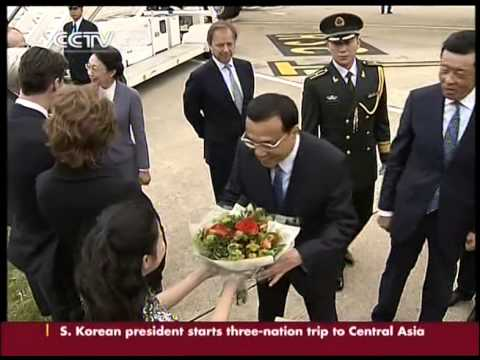 Li Keqiang arrives in Britain for official visit