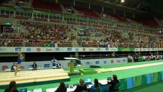 Rio de Janeiro - Test Event: Lara Mori / Volteggio (qualifiche)