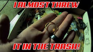 I Almost Threw Gold In The Trash | Abandoned Storage Unit Unboxing From Foreclosure Auction