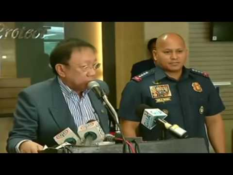 PINOYNEWSPH:  Solicitor General Jose Calida, PNP Chief Dela Rosa Press Conference 2/3