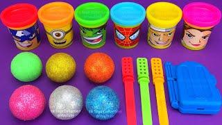 Making 3 Ice Cream out of Play Doh PJ Masks Zuru 5 Surprise Toys Chupa Chups Yowie Kinder Joy