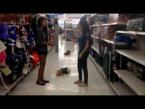 Marry you bruno mars. Walmart style.