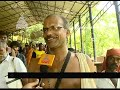 Sabarimala temple closed today after Vishu fest