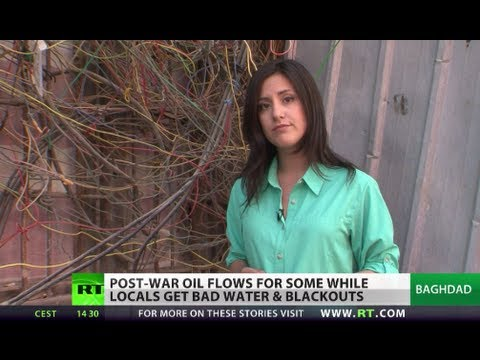 Losing Power: Iraqi oil flows while locals lack electricity, water