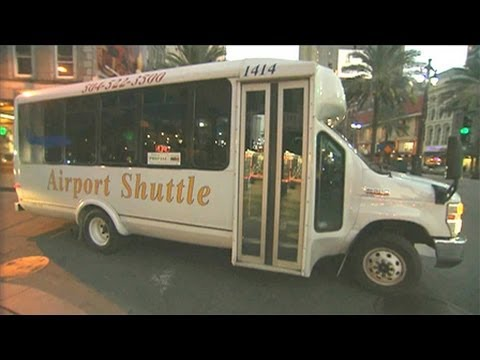 Inside New Orleans Airport Airport Shuttles in New