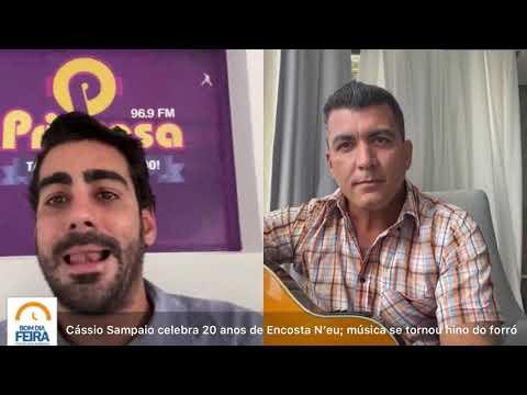 Cássio Sampaio celebra 20 anos de Encosta N'eu; música se tornou hino do forró
