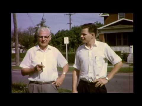 Bernie, Bobby & Bertha (MacDonald) Beaton Visit son Robert In Oshawa 1964
