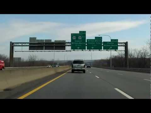 North Cross Valley Expressway (PA 309) southbound
