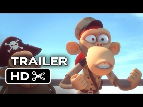 Primates Of The Caribbean Official DVD Release Trailer (2013) - Animated Comedy HD