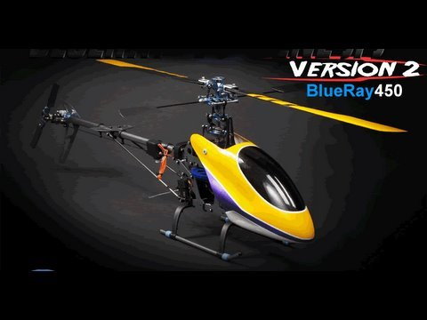 Exceed Rc BlueRay 450 RTF 3-D Brushless Helicopter in Action