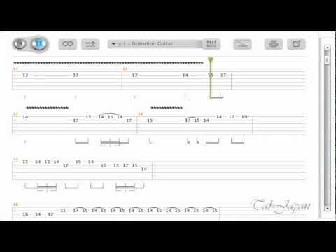 Canon Rock Guitar Tab