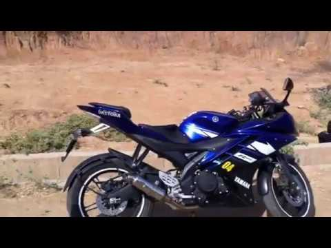YAMAHA R15 VERSION 2.0 with Daytona exhaust