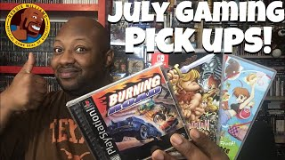 Gaming pick ups July 2019