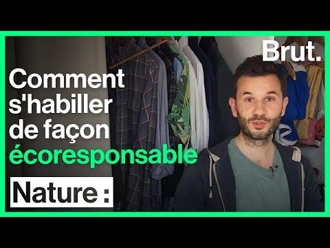 Comment s'habiller de façon écoresponsable