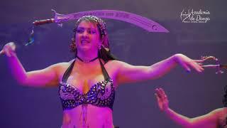Danza Arabe Medellin |Academia Maria Isabel Angel. Clausura 2018 (sable)