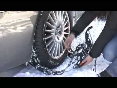 Weissenfels Clack&Go Quattro - Snow Chains video