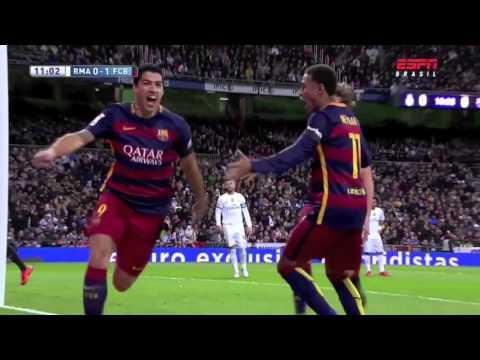 Real Madrid 0 Barcelona 4 1er Gol Cadena Ser