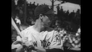 Joe DiMaggio's Wild Dash Home Clinches Yankees 1939 World Series Victory over the Cincinnati Reds