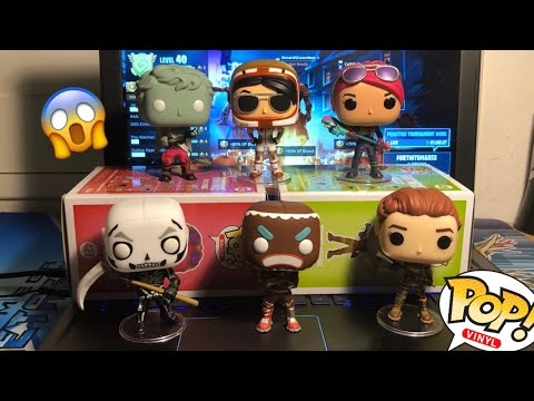 Fortnite Funko Pops Review PART 1