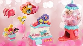 Let's play TRU Disney Tsum Tsum Tsweet Boutique Gumball and Claw Machines
