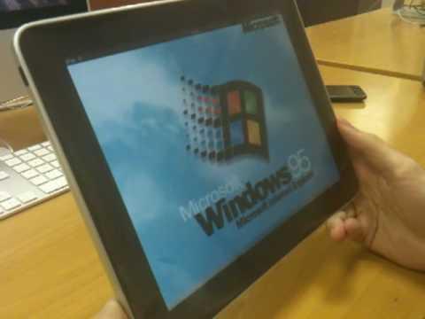 Windows 95 iPad Edition