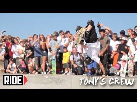 Riley Hawk, Jaws and the Birdhouse Team Skate the Northwest - Tony's Crew