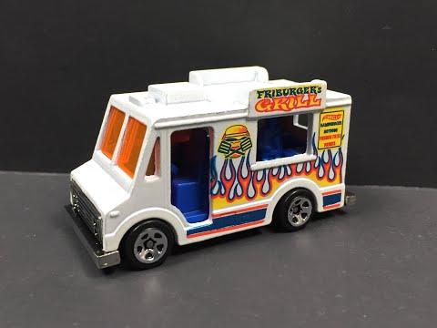 Hot Wheels Sweet Streets Ice Cream Truck 1:64 (1080p HD)