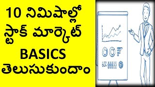 what is stock market(Telugu) ,NSE , BSE , Commodities , Currency and  How to buy shares?