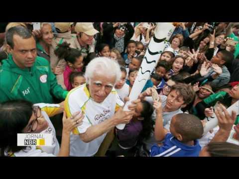 Chama Olímpica percorre municípios no Rio de Janeiro