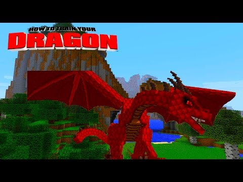 Minecraft - How To Train Your Dragon - Brand New Dragons! [48] video