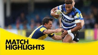 Bath Rugby v Worcester Warriors - Aviva Premiership Rugby 2016-17